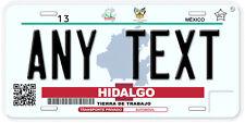 Hidalgo Mexico Any Text Personalized Novelty Auto Car License Plate C02
