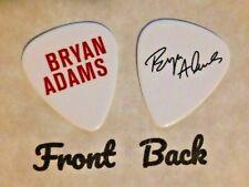 ADAMS - BRYAN ADAMS band logo signature guitar pick -  (w)