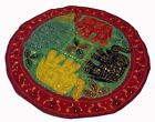 """33% OFF 32"""" GREEN VINTAGE GUJRATI DÉCOR TRIBAL HANDCRAFTED TAPESTRY WALL HANGING"""