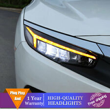 For Honda Civic Headlights ALL LED Beam Projector Full LED DRL 2016-2019
