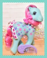 ❤️My Little Pony MLP G1 Vtg Twice as Fancy TAF Sweet Tooth Lollipop & COMB❤️