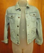 GAP throwback jean-jacket youth size 10 light denim girls coat OG