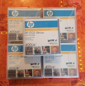 Lot HP 5 cartouches 400 Go LTO