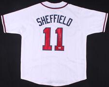 Gary Sheffield Signed Atlanta Braves Jersey (PSA) 500 Home Run Club / 9xAll Star