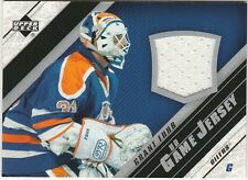 2005-06 Upper Deck Grant Fuhr #J-GF Hockey Card UD Game Jersey Authentic