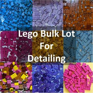 NEW 💥100+ PCS LEGO BULK LOT! COLOR SORTED! SMALL PIECES FOR DETAILING