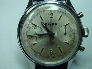 KOPP mechanischer Chronograph.Handaufzug  Landeron 248