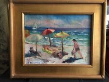 ALICE BROWNING DOUGHTEN (1880-1969) New Jersey Impressionist Atlantic City