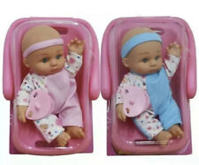 Baby Doll With Car Seat Travel with handle. Rocking baby doll car seat Kids Gift