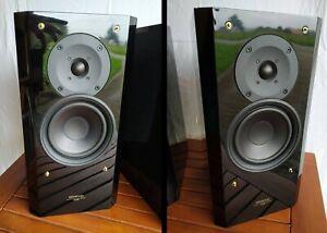 Kenwood LS-E8, (LS-K711 ?), Lautsprecher, 80W, Hochglanz schwarz