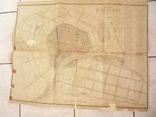 GRAND PLAN D'AUXERRE 1873