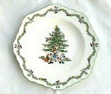 SPODE, DISNEY'S CHRISTMAS TREE CELEBRATION, OCTAGONAL DINNER PLATE, UNUSED