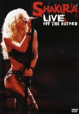 "Shakira ""Live & Off The Record"" Dvd New+"