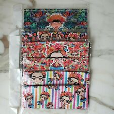 Frida Kahlo Print Face Mask Washable Reusable