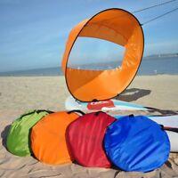 "42"" Downwind Wind Paddle Popup Board Kayak Sail Kit Kayak Wind Sail Accessories"