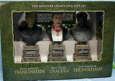 The Monster Legacy Gift Set (Frankenstein/Dracula/Wolf Man) 6 DVD, OOP, MINT