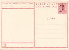 Postwaarde 1946 5 op 7 1/2  cent (kastelenserie nr 10 Zuilen)
