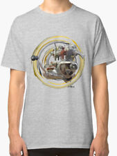 Triumph 5TA Classic Motorcycle engine Vintage Retro TShirt INISHED Productions