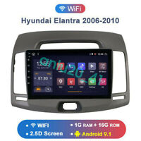 9 Inch Android 9.1 Car DVD GPS Radio Player For Hyundai Elantra Avante 2006-2010