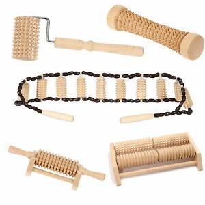 Bütic Holz Massagerollen Wellness Massage