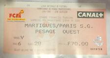 TICKET / BILLET MARTIGUES-PSG 05/11/1994 D1 paris saint germain sg