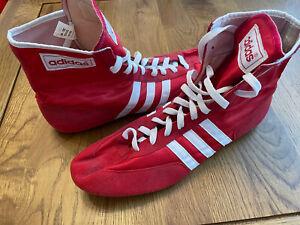 Adidas German Pins Wrestling Shoes/Boots Rare