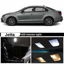 11x White Interior LED Lights Package Kit for 2011-2016 Volkswagen Jetta MK6 VW