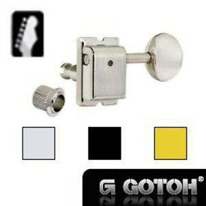 New Guitar Parts Gotoh SD91 - 6 Inline Tuners