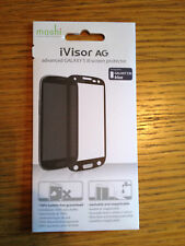 NEW SEALED Moshi iVisor AG ADVANCED Screen Protector Samsung S3 BLUE 99MO020918