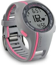 GARMIN Forerunner 110 Ladies GPS Heart Rate Monitor HRM Running Watch grey/pink