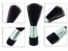 Barber Salon Shave Shaving Razor Cepillo Mango de Madera Bigote Cepillos para hombres