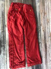 GAP BOYS GIRLS SKI SNOW SnowPants Squall Pants Size XL 12 Red