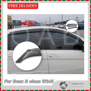 Premium Weathershields Weather Shields Window Visors for Benz B class W245 05-12