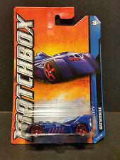 2011 Matchbox MBX City 5/10 Batmobile
