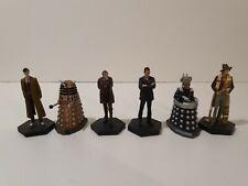 Doctor Who Eaglemoss 10th War 9th 4th Doctor davros dalek lot