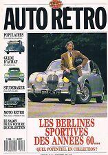 Auto Moto Retro   N°111   nov 1989 : Berlines sportives des annees 60 Les decouv