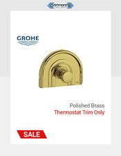GROHE POLISHED BRASS - SHOWER TRIM ONLY