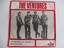 """VENTURES - Ten seconds to heaven / Bird Rockers - Single 7"""" von 1965"""