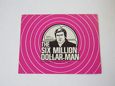 '73 SIX Million Dollar Man Slang Dictionary Card for CB Headset Radio Receiver