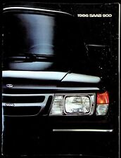 Vintage Original 1986 Saab 900 Sales Brochure Booklet