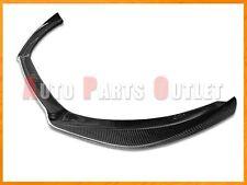 Carbon Fiber Front Bumper Spoiler Lip For 09-12 AUDI A4 B8 w/ Standard Bumper