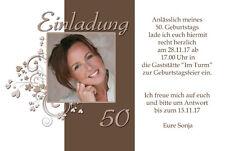 Einladungskarten zum Geburtstag für Erwachsenen günstig ...