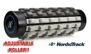 NordicTrack Dual Density Adjustable Foam Roller 15in. Deep Tissue Therapy - SALE