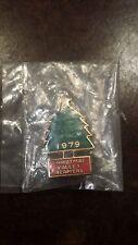 VINTAGE JIM BEAM 1979 CHRISTMAS VALLEY BEAMERS ENAMEL PIN FREE SHIPPING