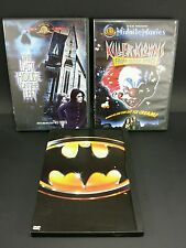 3 DVD LOT Batman Killer Klowns From Outer Space Last House on the Left