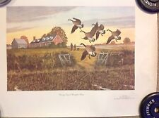 """REMINGTON  - """"Opening Day at the Farms"""" Collectable print"""