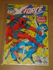 X-FORCE #11 MARVEL NEAR MINT 1ST REAL DOMINO 3RD DEADPOOL APP JUNE 1992