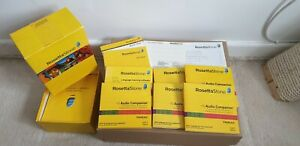 Rosetta Stone Complete Course 1-5 French RRP £199.00
