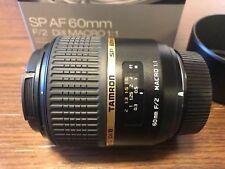 TAMRON single-focus macro lens SP AF 60 mm F 2 DiII MACRO 1: 1 APS-C for Nikon