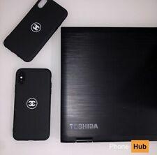 Black Chanel Phone Case